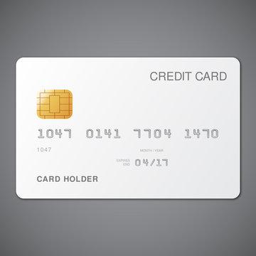 White Credit Card