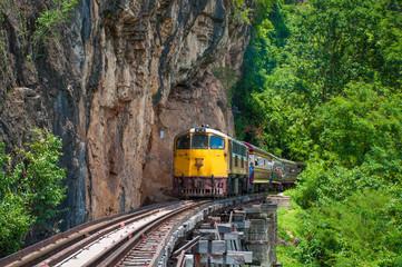 Death railway in Kanchanaburi, Thailand