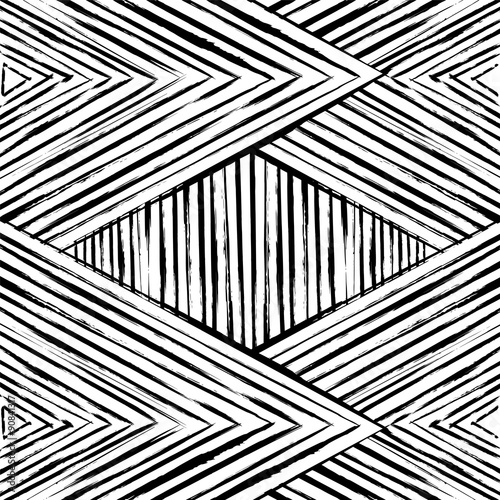 quotabstract geometric pattern background black and white