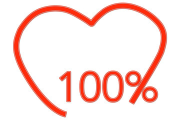 100% Love