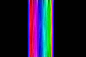 Background of lines of various colors on black background