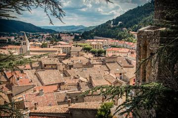 Vue de Sisteron