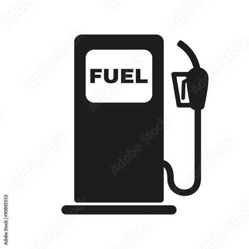 The Gas Station Icon Gasoline And Diesel Fuel Symbol Flat Stock