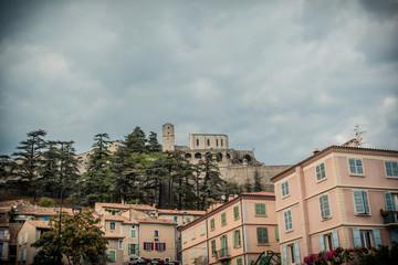 Sisteron et la Citadelle