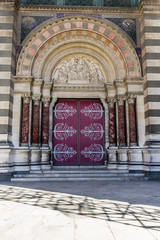 Porte de la Cathédrale Sainte-Marie-Majeure de Marseille