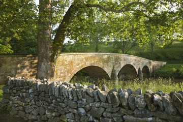 Burnside's Bridge at Antietam (Sharpsburg) Battlefield in Maryla