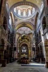 Intérieur de la cathédrale Sainte-Marie-Majeure de Marseille