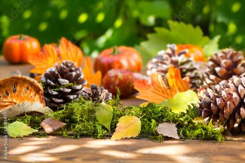 Dekoration im Herbst Fotos de archivo e imágenes libres