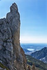Arrampicata nelle alpi