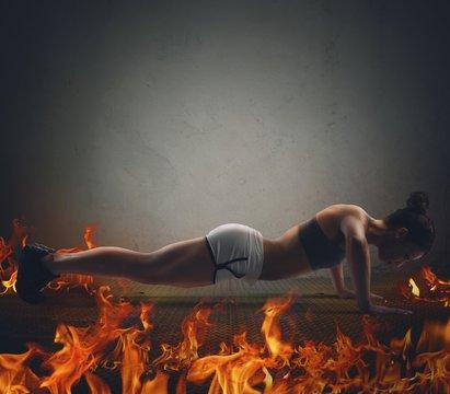 Fire workout