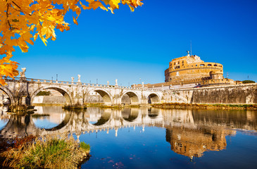 Fotomurales - Sant'Angelo fortress, Rome