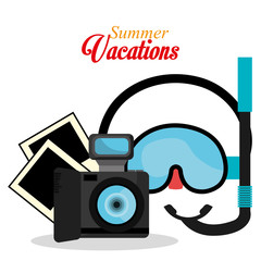 Summer vacation graphic