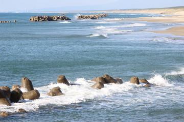 日本海 庄内海岸