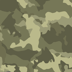 Green camouflage. Military vector background.