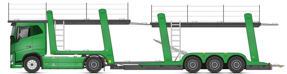 Photos illustrations et vid os de camion transport de voiture - Dessiner un bus ...