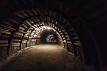 Coal mine corridor