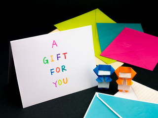 Message Card for Your Family and Friends; A Gift for You