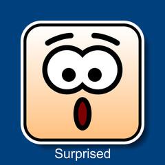 Emoticon Surprised
