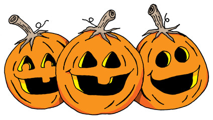 The Three Pumpkins
