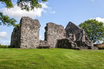 Rya church ruin