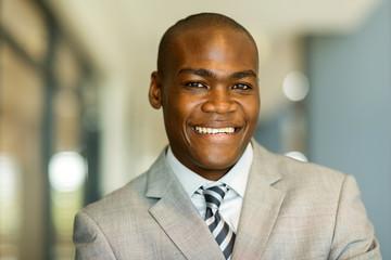 african man close up portrait