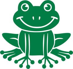 Comic Frog
