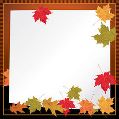 Autumn Leaves Background Illustration