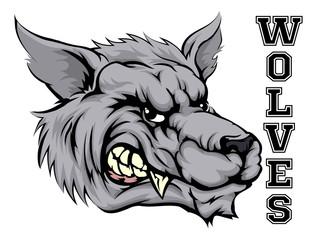 Wolves Sports Mascot