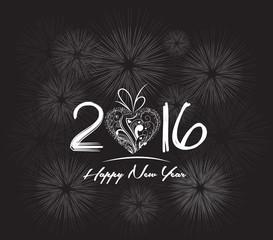 Happy Chinese New Year 2016! Firework