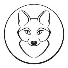 Animal head 4. Vector illustration