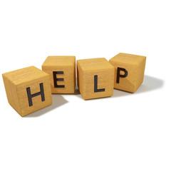 Würfel und Hilfe