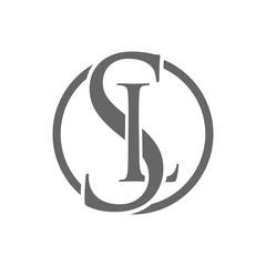 SL Circle Letter Mark Logo