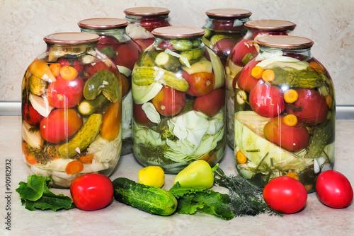 Овощи ассорти на зиму рецепты с фото