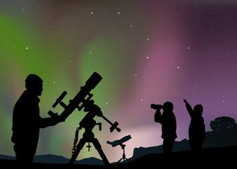 Paysage Astronomie Aurore Boreale