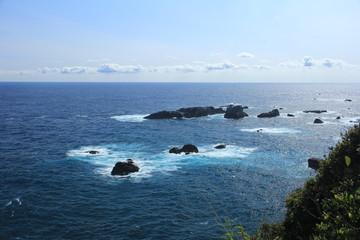 足摺岬灯台から見た風景
