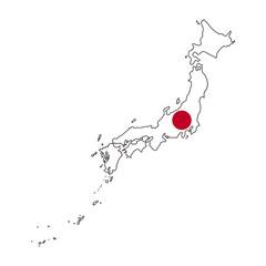 Bilder Und Videos Suchen Bis Abuzar - Japan map flag