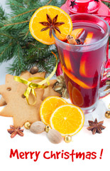 Chriatmas mulled wine