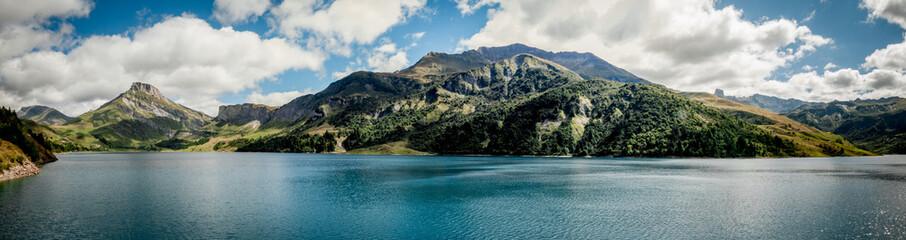 Photo sur Toile Barrage Barrage de Roselend en Savoie