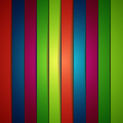 abstract vector background with colorful stripes