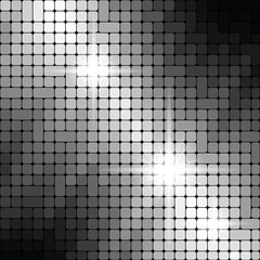 Wall Mural - Shiny metallic texture pattern, vector background