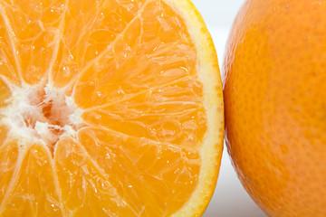 Фруктовая композиция (апельсин). Крупный план