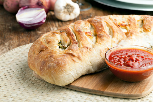 Stromboli Stuffed Bread