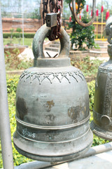 Bell that hung in the Temple