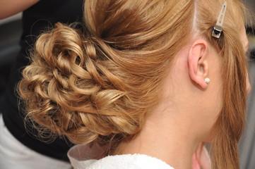 blonde hairstyle