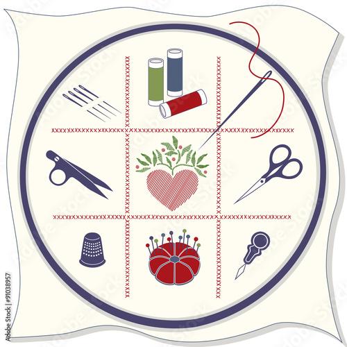 Инструмент для вышивки крестом 829
