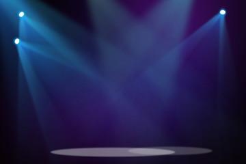 Purple & Blue stage background