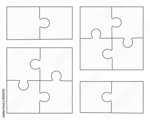 Puzzle Template  Pieces  ApigramCom