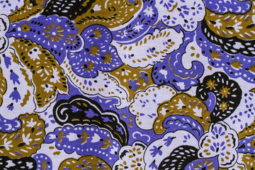 Indian style fabric