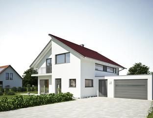 Bilder und videos suchen bis kb3 for Modernes haus mit rotem dach