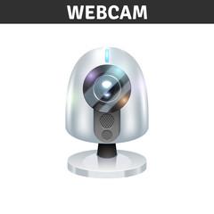 White Webcam Illustration